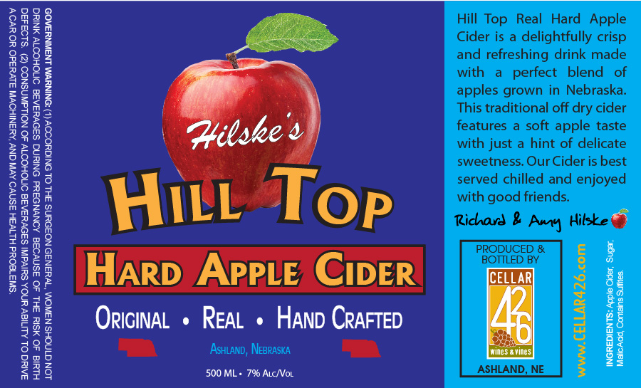 Hilske's Hill Top Hard Apple Cider